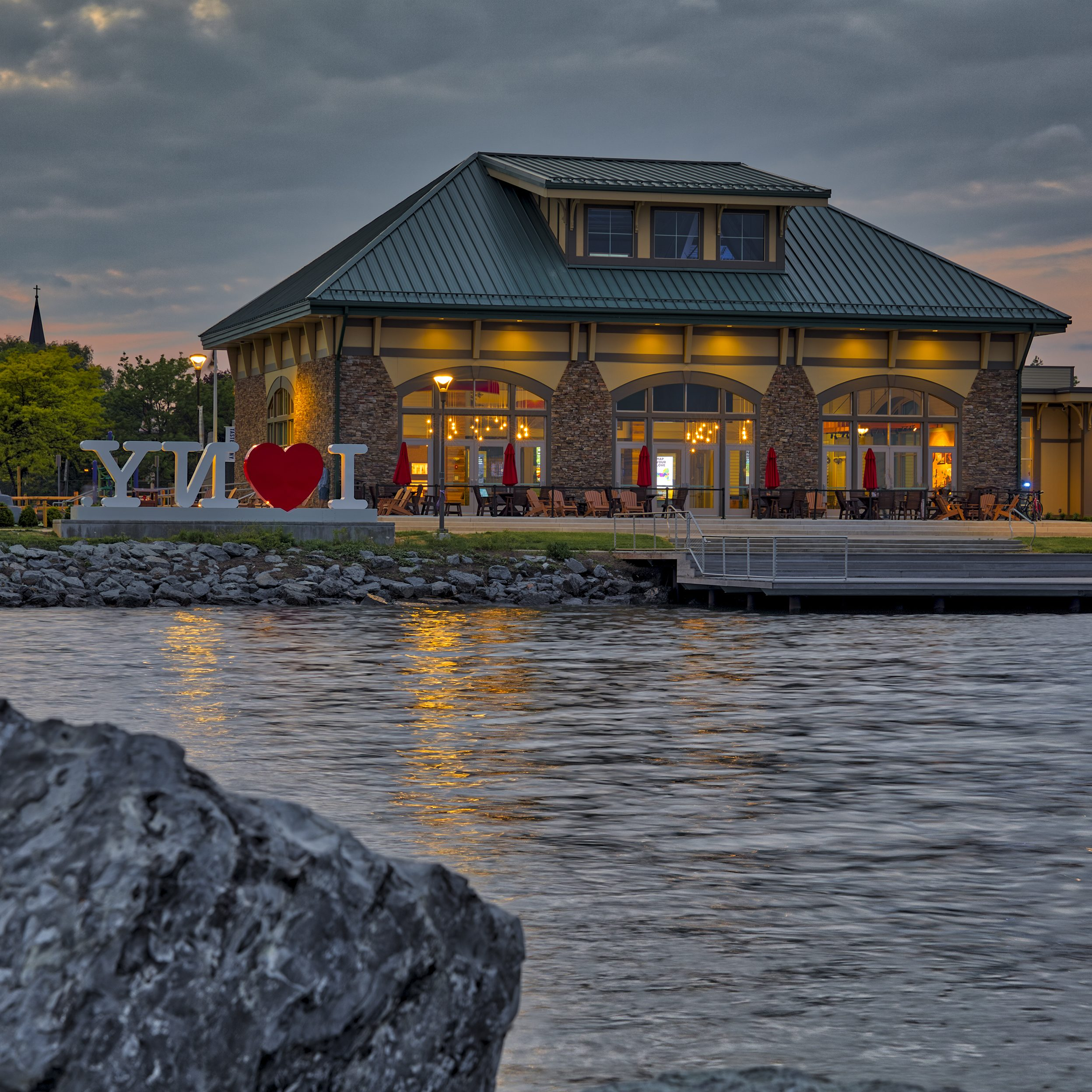 Finger Lakes Welcome Center in Geneva New York, photo credit: Kevin Colton